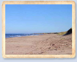 Blooming Point Beach, PEI - close to Kelly's Homestead